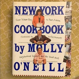 New York Cookbook hardcover by Molly O'Neill